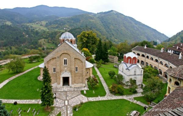 Manastir Studenica arhitektura