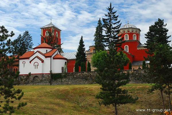 Manastir zica arhitektura