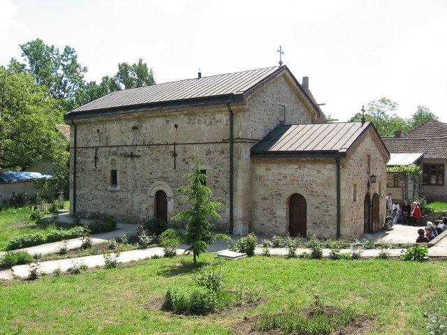 Manastir ima jednostavnu arhitekturu.