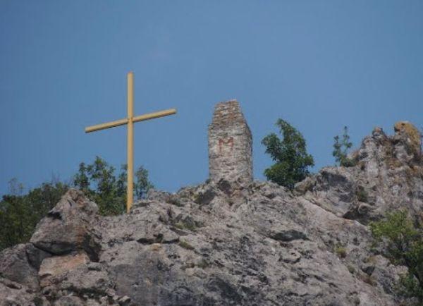 Krst nadomak Lipovačke tvrđave