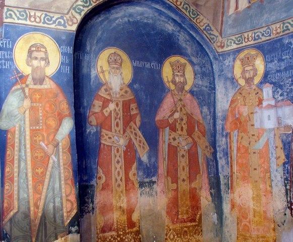 Detalj iz manastira Lipovac
