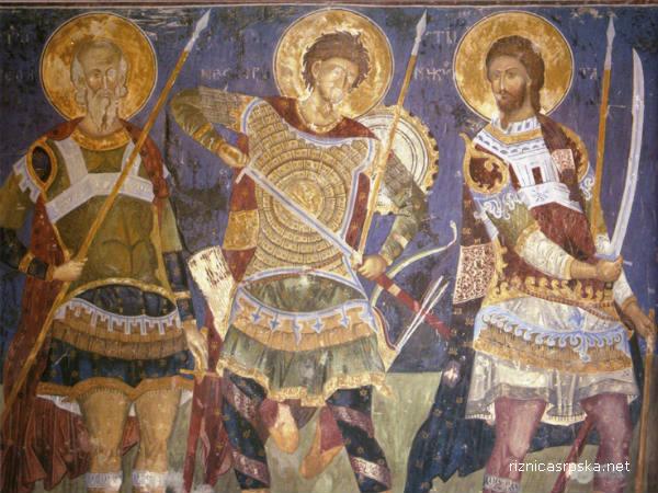 manasija freske