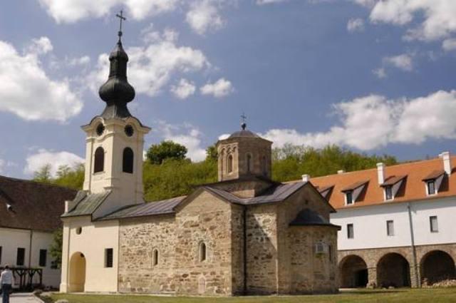 Manastir Mesić nalazi se nadomak granice sa Rumunijom.