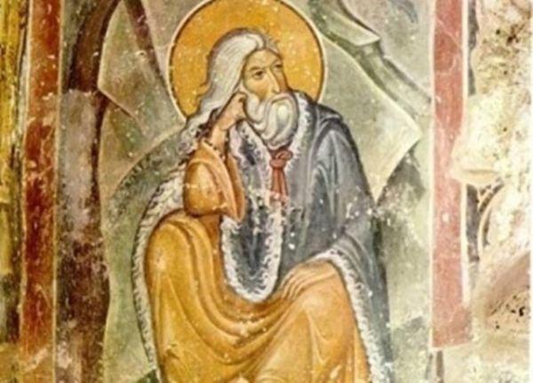 """Freska ,,Gavran hrani proroka Iliju"""""""