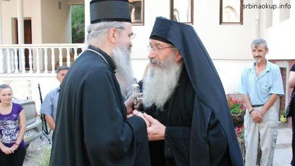 Otac Kirilo iz manastira Draganac