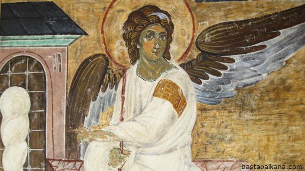 freska beli andjeo