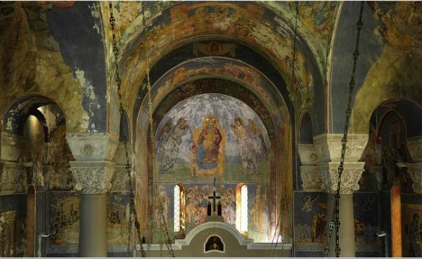 vavedenje freske